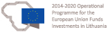 2014-2020 European Union investment in Lithuania