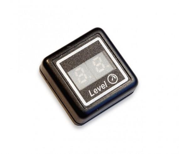 TE-DIN1 - Skaitm. indikatorius rodantis dujų kiekį balione